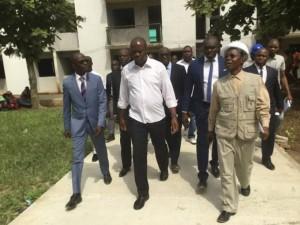 Côte d'ivoire : Réhabilitations des résidences universitaires d'Abobo et Williamsville, les promesses de Mabri Toikeusse aux étudiants
