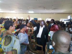 Côte d'Ivoire : Alcide Djédjé  depuis Gagnoa, « Ouattara veut un seul parti, pour plus d'engagement de chacun »