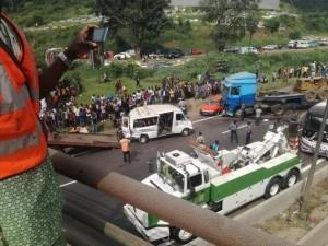 Côte d'Ivoire: Un carambolage sur l'autoroute du nord Adjamé-Yopougon coupe la circulation pendant des heures