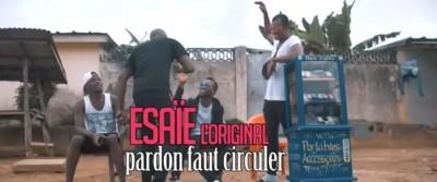 Esaïe l'original - Pardon faut circuler - Togo