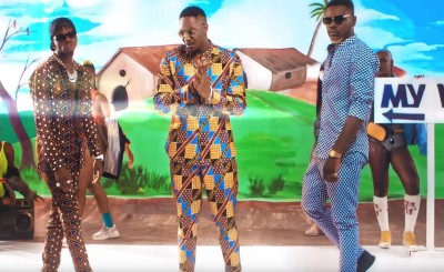 Stanley Enow Ft Diamond Platnumz et  Ariel Sheney -  My Way Remix - Coupé Décalé