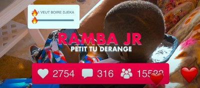 RAMBA JUNIOR - PETIT TU DERANGES - Coupé Décalé
