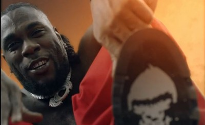 Burna Boy - Way Too Big - Camer